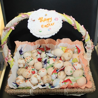 Easter gift prepared by MSC siters