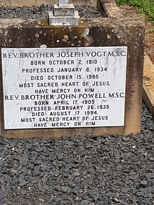 Toowoomba graves Vogt Powell