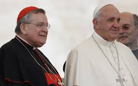 cardinal burke and pope francis