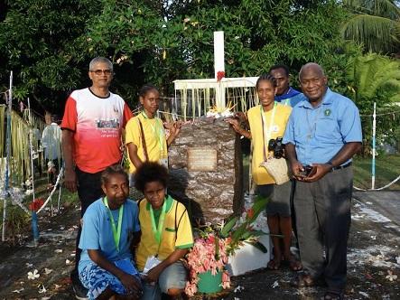 youth convention rabaul grave